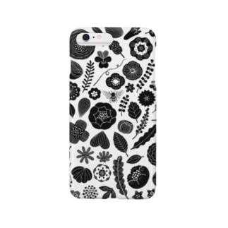 植物図案化 Smartphone cases