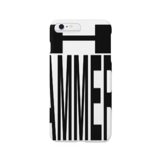 HAMMER/iPhoneケース/白 Smartphone cases