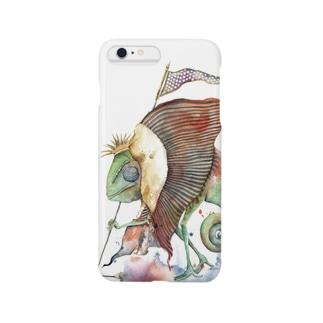 カメレオン王 Smartphone cases