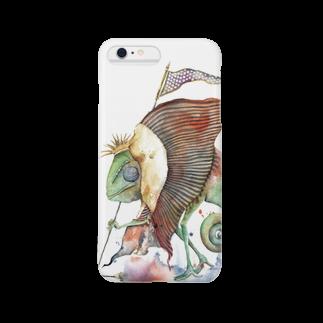 松野和貴のカメレオン王 Smartphone cases
