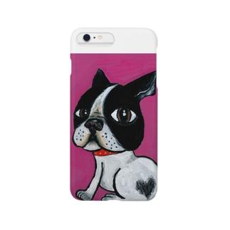 ピンクちゃん Smartphone cases