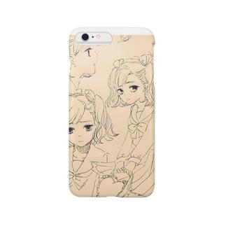 らくがき(ふまんげ) Smartphone cases