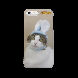 Cat Cafe ねころびのハルキiphoneケース Smartphone cases