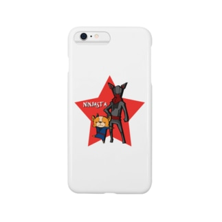 ニンジャスタ-レッドスター- Smartphone cases