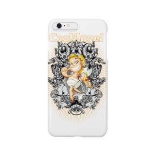 """天使のクーちゃん/Cool Angel """"Coo"""" Smartphone cases"""