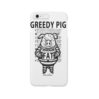 GREEDY PIG Smartphone cases