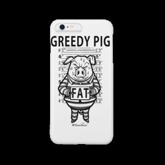 GREEDY PIG スマートフォンケース