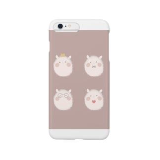 おもちさん Smartphone cases