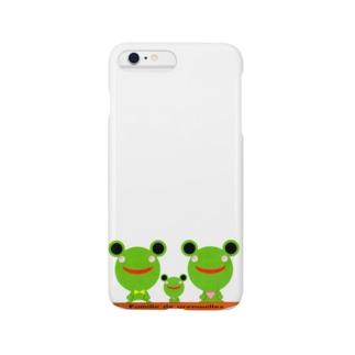 Famille de grenouilles Smartphone cases