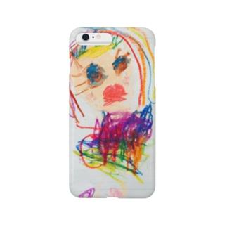 外国のおしゃれな女の子 Smartphone cases
