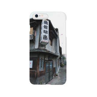 DEEP案内編集部の大阪西成旅館明楽 Smartphone cases