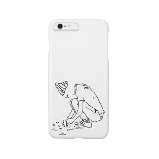 いじけ虫 Smartphone cases