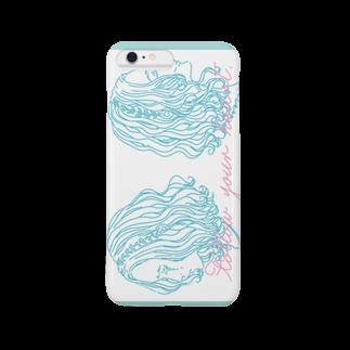 イラストレーターkinatsumi illustrationの心のままに Smartphone cases