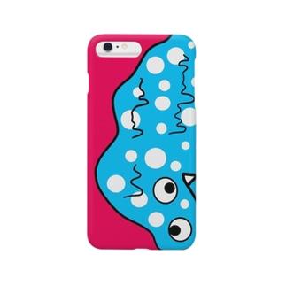 スライム氏(ピンク) Smartphone cases