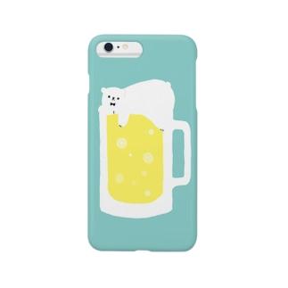 BeerBear(しろくまビール) Smartphone cases