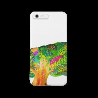 savaの生命宿るりんごの木 Smartphone cases