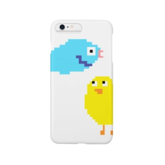 ひよことさかな2ひき Smartphone cases