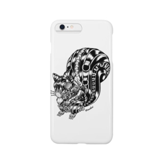 "Animalia Kinky "" Black Squirrel "" Smartphone cases"