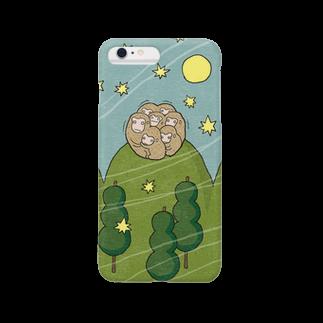 udoのお団子山のさるだんご Smartphone cases