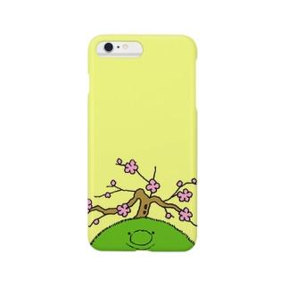 モスくんの春 Smartphone cases