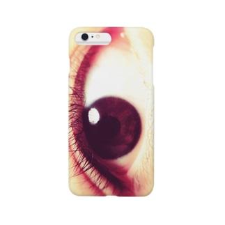 小林さんの右目 Smartphone cases
