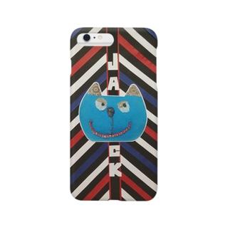 猫『jack  mode』 Smartphone cases