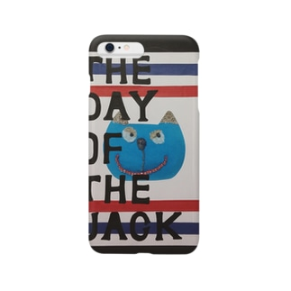 猫『The day of the jack 』 Smartphone cases