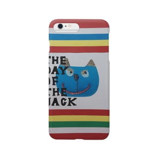 猫『The day of The jack 3』 Smartphone cases