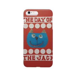 猫『The day of the  jack 5』 Smartphone cases