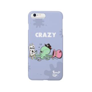 オクトパス 〜FUNKY ZOO〜 Smartphone cases