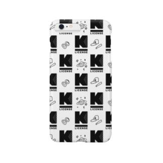 K LICENSE リリックモノグラム Smartphone cases