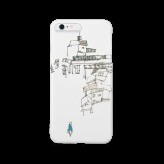 砂まみれの街(秋晴れ) Smartphone cases