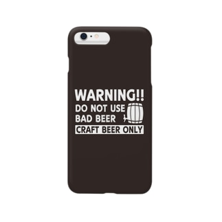 WARNING!!DO NOT USE BAD BEER CRAFT BEER ONLY Smartphone cases