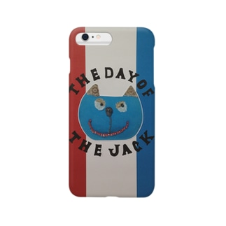 猫『The day of the jack 6』 Smartphone cases