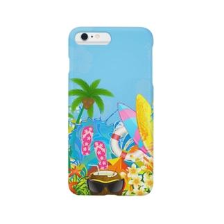 癒しの自然 Smartphone Case