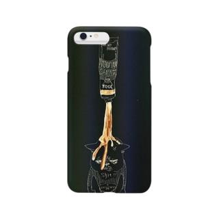 チッ(`ط´≠)/暗黒Ver. Smartphone cases