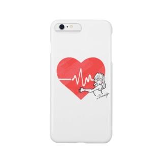 彼の心拍数。 Smartphone cases