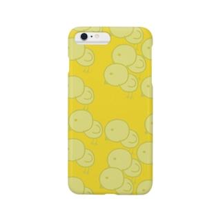 可愛いひよこのオピーヌihoneケース Smartphone cases