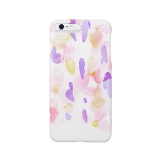 淡と朝顔 Smartphone cases