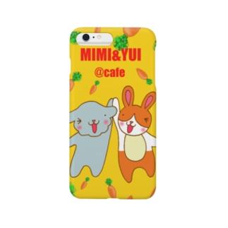 mimi&yui@cafe Smartphone cases