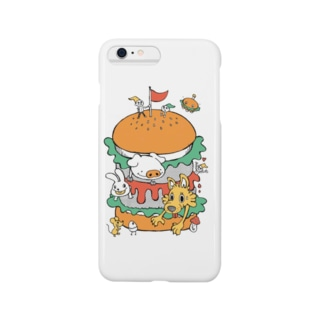 ハンバーガー スマートフォンケース