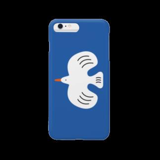 RIKOのwhite bird Smartphone cases