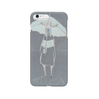「雨を 待ってるの」 Smartphone cases