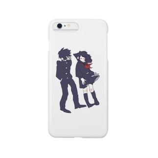 黒猫双子 Smartphone cases