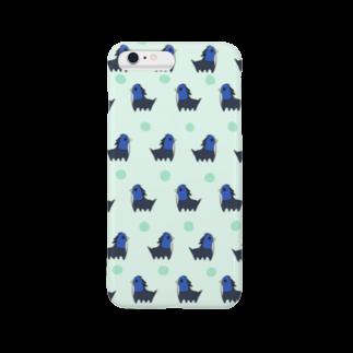 ひよこぐみのペンタウルスがいっぱいiPhoneケース Smartphone cases