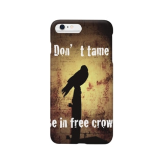 L-cotのcrow Smartphone cases
