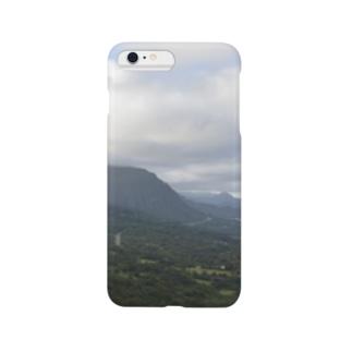 ハワイ ヌウアヌ・パリ展望台 Smartphone cases