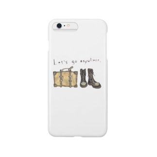 Let's go anywhere Smartphone cases