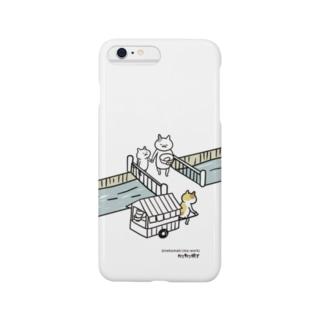 おやこ(ねこまき先生) Smartphone cases
