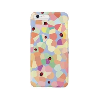 まるまる・てんとうむしくんスマートフォンケース Smartphone cases